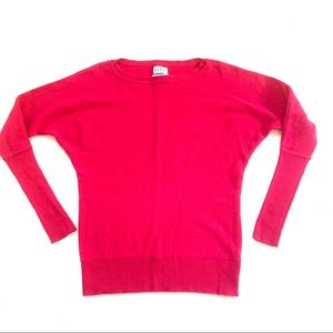 🌸🌵🌼Nicole Miller | Cashmere Hot Pink Sweater XS